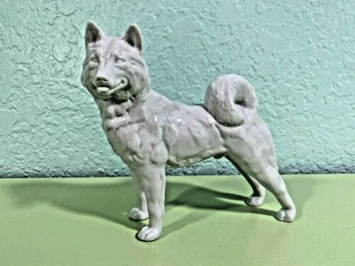 Rare Royal Copenhagen Denmark Siberian Husky White 2670038 Only One on eBay!