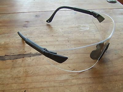 Clay Airsoft Shooting Tactical Safety Glasses Clear Shatterproof Lenses EN166-F