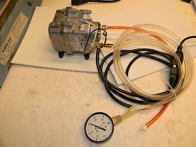 Medo Vp0450-v1039-e1-0511 Linear Motor Driven Piston Vacuum Pump -19.68 Hg