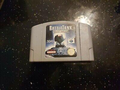Battle Tanx Global Assault. Nintendo 64 N64 UK PAL.