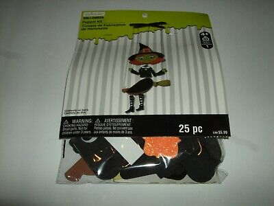 Halloween Witch Puppet Craft Kit By Creatology NEW 25 pc. Makes 1