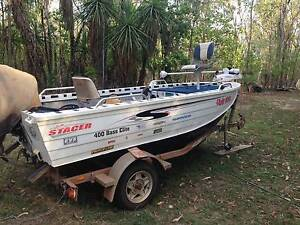 2007 Stacer Boat 40hp Mariner + Trailer` Holtze Litchfield Area Preview
