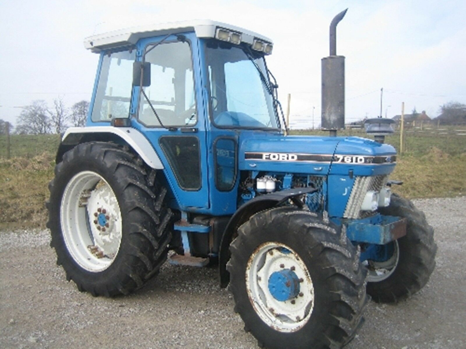 5 of 12 Ford Tractors Workshop Manual 10 Series