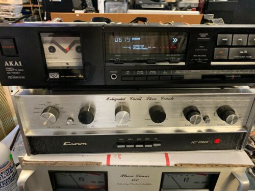 Vintage AKAI GX-R60EX AUTO REVERS STEREO CASSETTE DECK MADE IN JAPAN high end