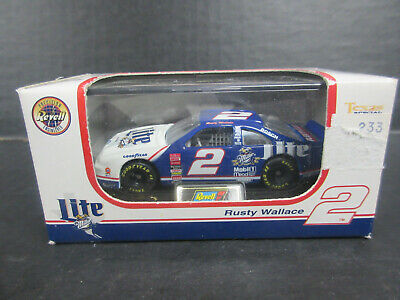 Revell Diecast Replicas 2 Rusty Wallace Miller Lite 1/64th scales Stock 142
