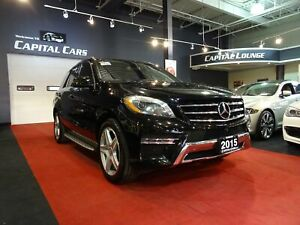 2015 Mercedes Benz M-Class ML400 4MATIC / NAVI / REAR ENTERTAINM