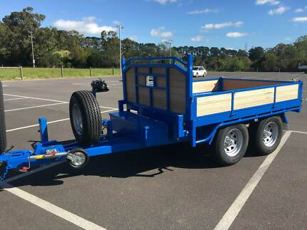 From $81 p/week 9x6 Custom Timber Flatbed Tipper-3.5T GVM
