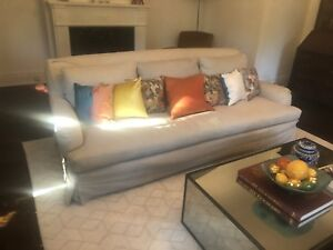 Restoration Hardware sofa couch