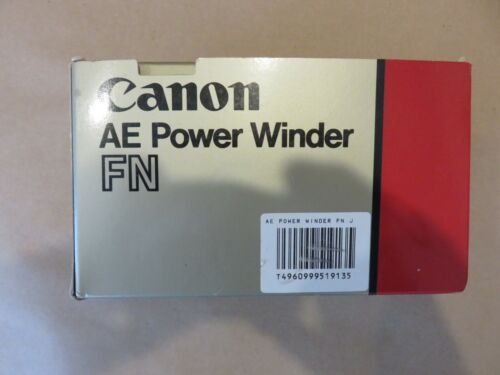 Canon AE Power Winder FN for  F-1 from Japan NEW IN BOX