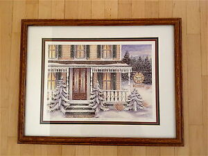 """""""The Doctors House"""" by Janice Tanton framed print"""