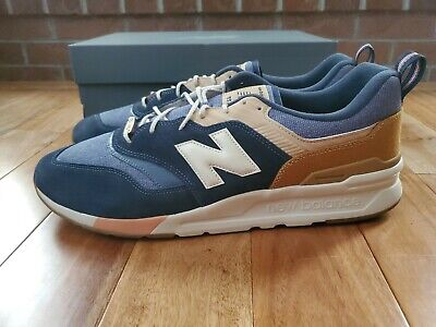 New Balance 997H Navy Workwear Brown Wood  Mens Size 18 D NEW IN BOX