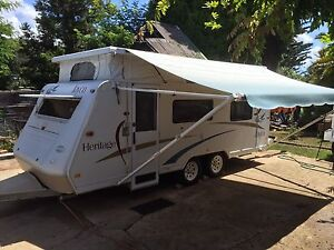Jayco heritage 18 ft 2005 caravan pop top camping moving farm fishing Launceston Launceston Area Preview