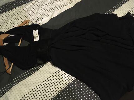 Beautiful black evening dress - Brand new!