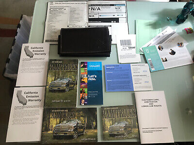 2017 DODGE RAM 2500 / 3500 OWNERS MANUAL PICKUP TRUCK OEM MOPAR BOOK WITH CASE