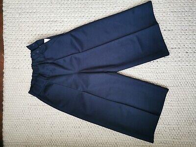 urban lifestyle adidas HYKE trousers originals tokyo UK6 navy blue cotton