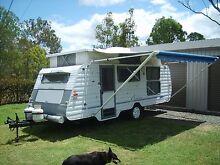 Poptop caravan 17ft 1997 Compass Jimboomba Logan Area Preview