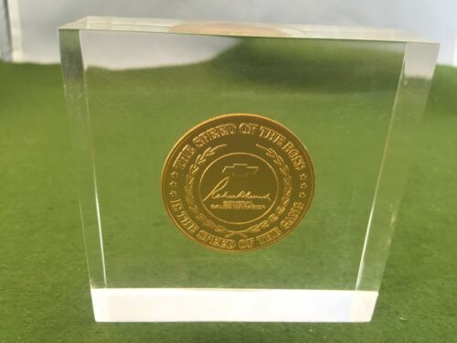 1971 Chevrolet Chevy General Motors Coin medallion Rare
