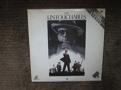 FACTORY SEALED THE UNTOUCHABLES LASER DISC BRAND NEW  ROBERT DINERO