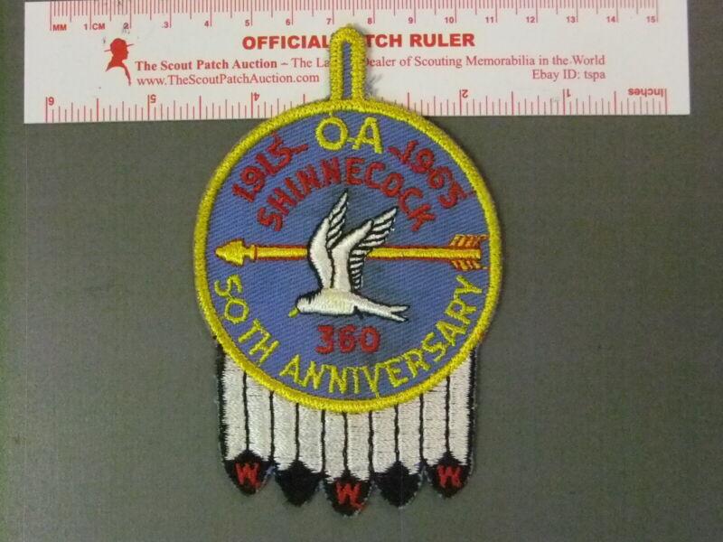 Boy Scout OA 360 Shinnecock round 6578JJ