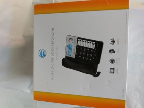 AT&T ML17929 2-Line Corded Desk/Wall Phone w/ Speakerphone Caller ID NEW