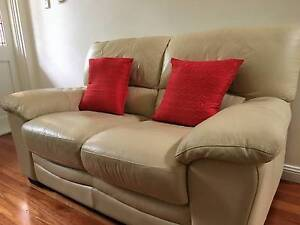 Leather Sofa Lounge - Two Seater Willoughby East Willoughby Area Preview