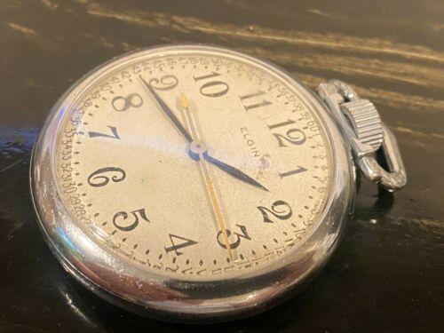 WW2 Elgin Military US Army Pocket Watch 1942