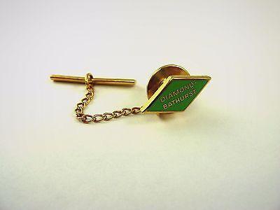 Vintage Publicidad Corbata Tack Pin Joyería: Diamante Bathurst