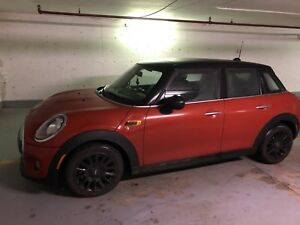 Reprise de bail lease takeover Mini Cooper 2015 wow deal deal