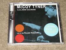 McCoy Tyner Plays John Coltrane Live Village Vanguard RARE New factory Sealed CD