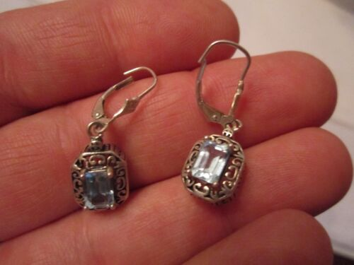 3 PAIRS OF STERLING SILVER EARRINGS - SPECTACULAR - DESIGNER QUALITY - TUB SC2