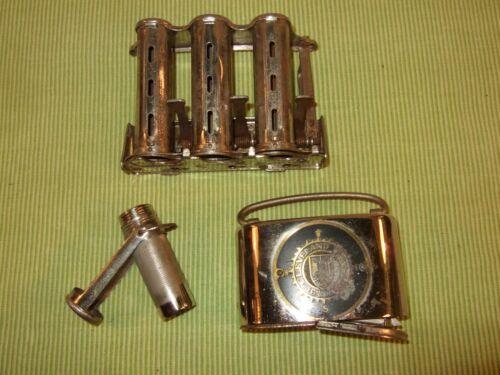Vintage Lot of 3 McGill Triumph Coin Changer 3 Barrels Ben Franklin Bank Match H