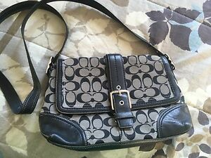 Authentic coach purse