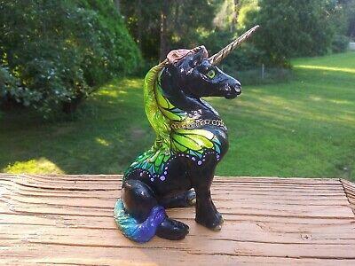 "Melody Peña Windstone Editions Fantasy Grab Bag ""Windcrest"" Young Unicorn statue"