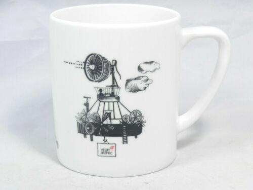 Dudson Robert Welch for Virgin Atlantic Flying Machines Mug Cup- VGC- England LE