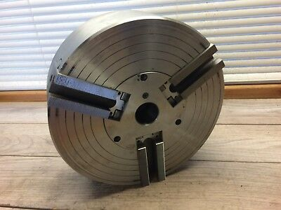 Nice Kitagawa Hjd6 10 - 1 Power Chuck 10 3 Jaw W D 1 6 Mount