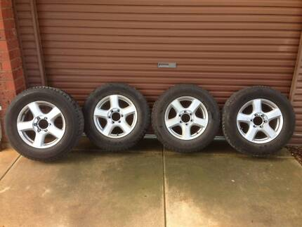 Isuzu D-Max Tyres and Rims Parafield Gardens Salisbury Area Preview