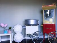 Cotton Candy, Popcorn, Snow Cone - Event Catering