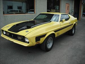 ford mustang mach1 fasback 1973