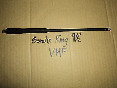 New Laa0818 Bk Radio 136 - 174 Mhz 9.5 Vhf Rubber Duck Antenna Bendix King Oem