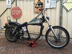 Harley Davidson shovelhead frame roller Perth Perth City Area Preview
