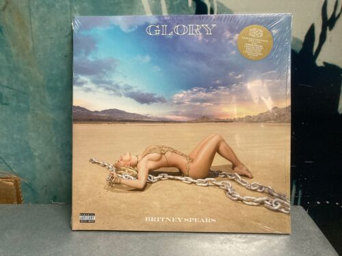 BRITNEY SPEARS GLORY 2 LP OPAQUE WHITE VINYL NEW SEALED DELUXE EDITION LIMITED