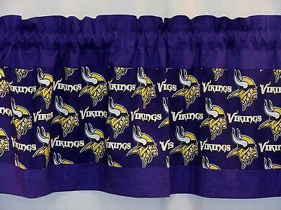 Minnesota Vikings NFL Football Custom Valance Choose: 40