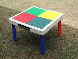 TOTT TUTORS (LEGO) TABLE WITH FOUR PANELS - MAKE LEGO PROJECTS Cornubia Logan Area Preview