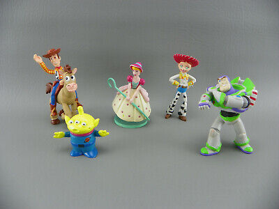 Jesse From Toy Story (Disney Pixar TOY STORY BO PEEP Bullseye Jesse Buzz Woody Buddy Pack Figure)