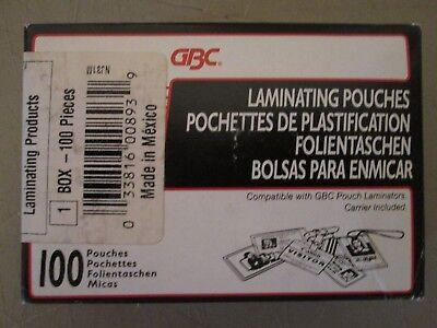 Gbc Laminating Pouches 7 Mil 2 916 X 3 34 Badge