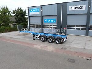 D-TEC Flexitrailer LS, Multi-Chassis mit Frontausschub