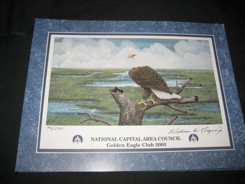 National Capital Area Council 2003 Golden Eagle Print
