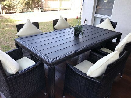 Wanted: Outdoor 6 Chair Euro Style Dining Table