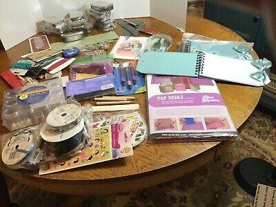 Crafter's Mixed Grab Bag - Huge Lot of Tools & Embellishments