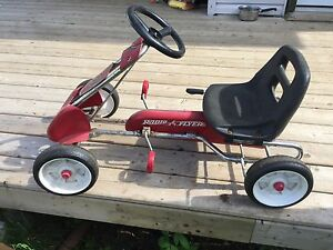Vintage Radio Flyer peddle Cart